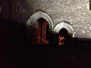 Gothic arches at the Prison Gatehouse, St Albans